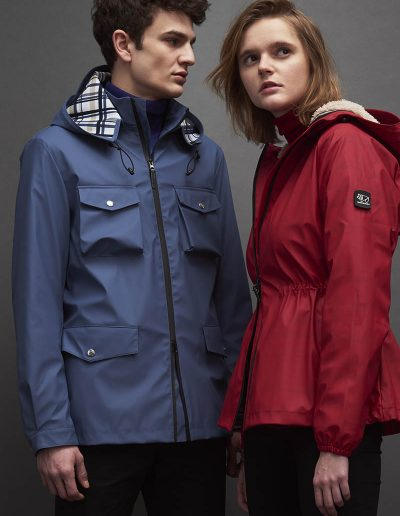 BGM004 FIELD JACKET – BGW001 WINDBREAKER JACKET