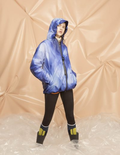 8 DGW102 WOMAN RAIN JACKET THERMOSENSITIVE FABRIC 9
