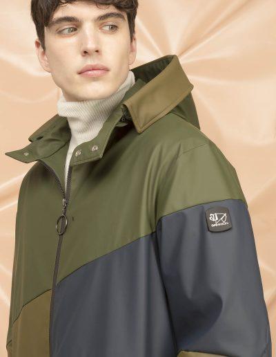 DGM008 MAN RAIN PARKA