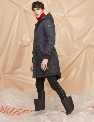 DGM221 MAN QUILTED PARKA