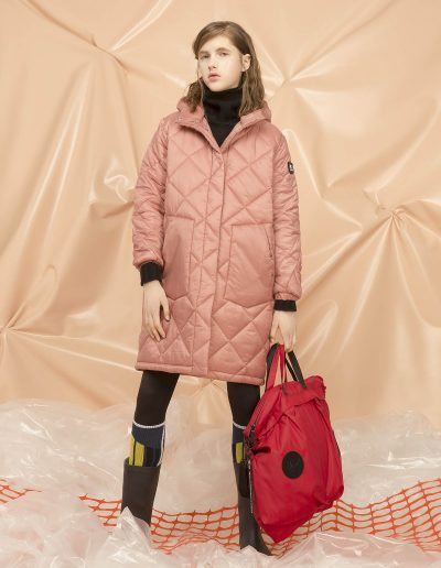 DGW221 WOMAN QUILTED PARKA - DGA001 RAIN BAG