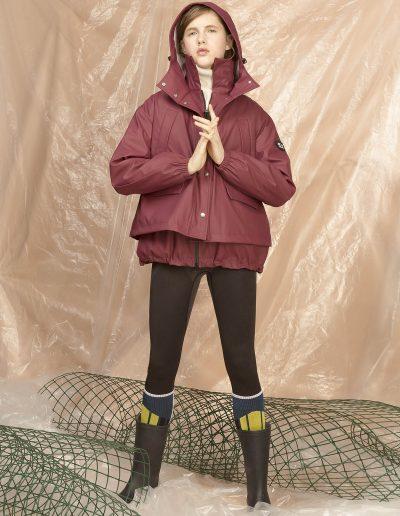 DGW003 WOMAN RAIN CAPE